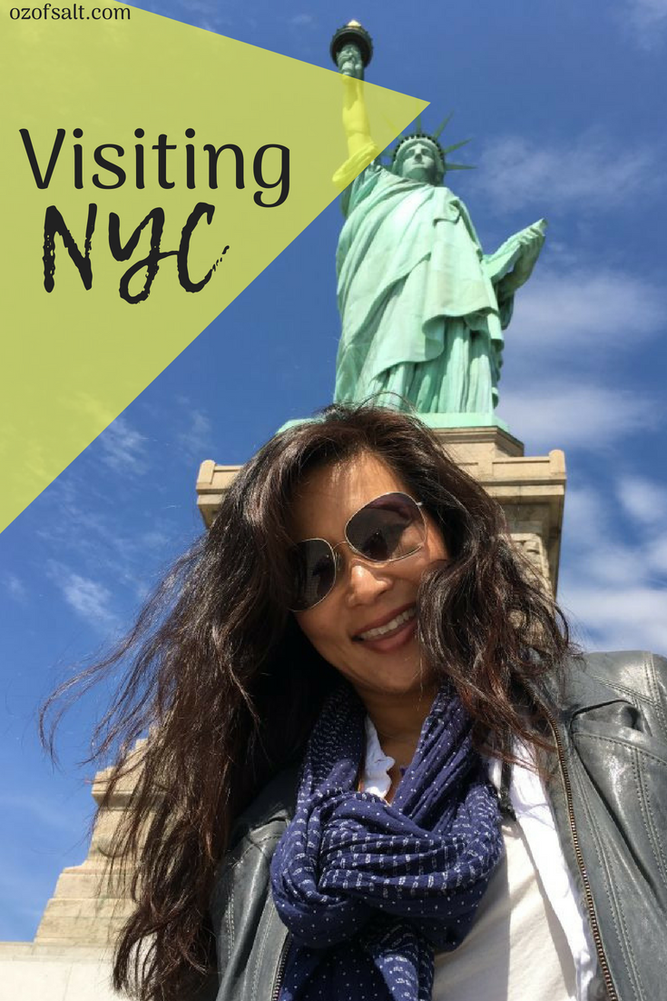 Traveling to NY was such an adventure! Filled with food, fun, shopping, and popular desitinations. Check out what we did on our vacation to NY. #ozofsalt #bucketlist #newyork