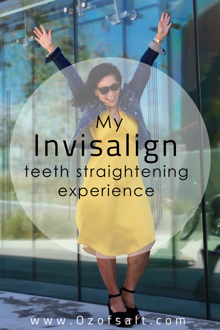 My 2 year review of using Invisalign teeth straightening. #ozofsalt #teethstraightening #womenshealth
