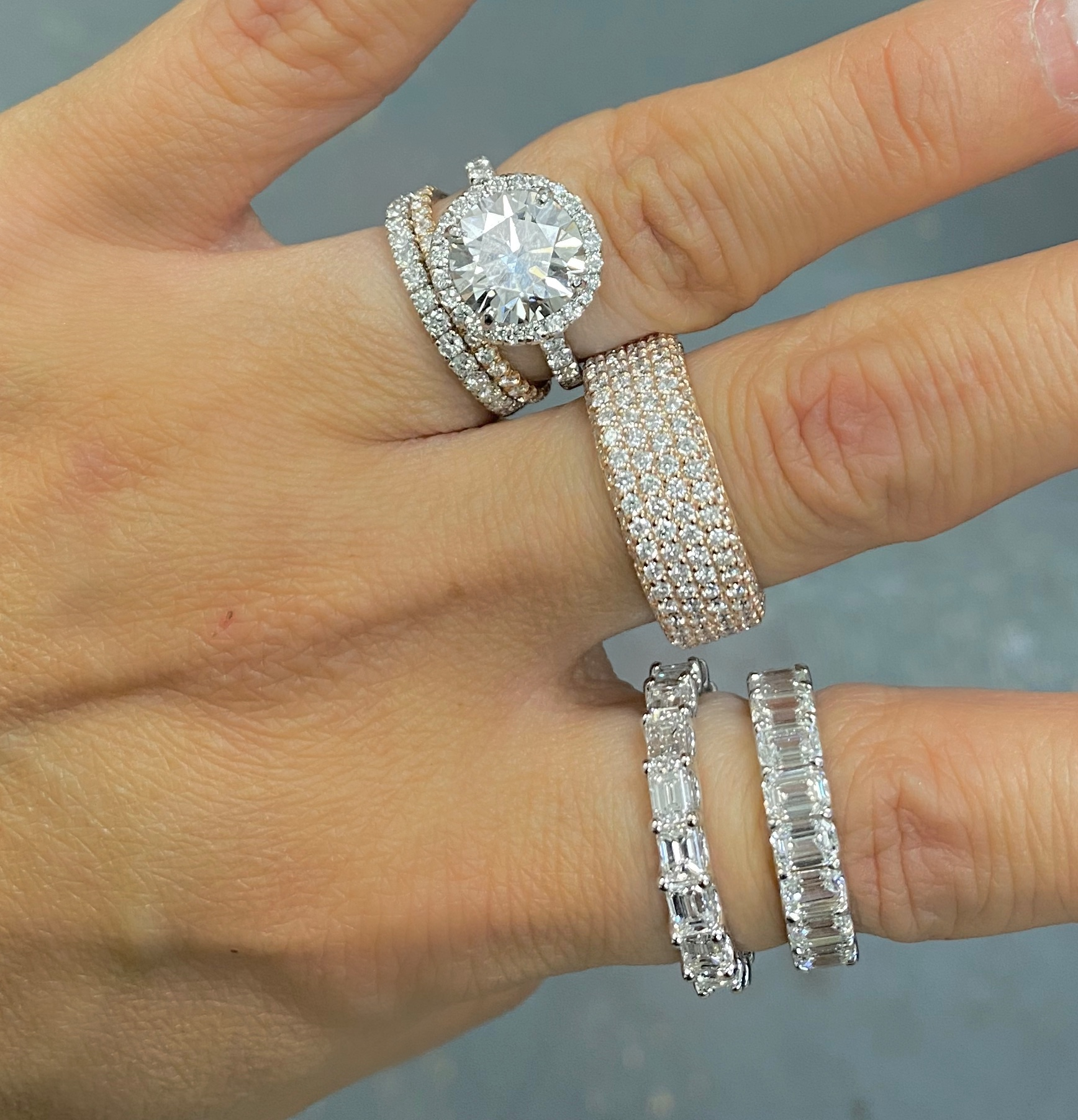 Must Knows Before Investing In A Quality Diamond Eternity Ring Ounce Of Salt